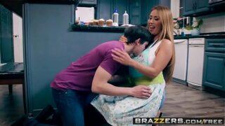 Brazzers – Mommy Got Boobs –  Bake Sale Bang scene starring Kianna Dior and Alex D